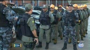 Polícia Militar leva reforço de segurança com 160 policiais ao Litoral - Polícia Militar leva reforço de segurança com 160 policiais ao Litoral