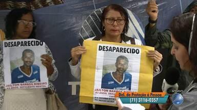 Reencontros e buscas por parentes: veja o quadro 'Desaparecidos' desta quarta-feira (19) - Quem tiver informações deve ligar para a Polícia Civil no telefone (71) 3116-0357.