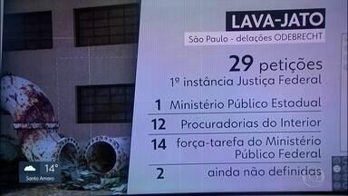 MPF cria grupo para investigar delações em São Paulo - Pedido do Ministério Público Federal, a Procuradoria Geral da República autorizou a criação de uma força-tarefa para atuar nas investigações da Lava-Jato em São Paulo.