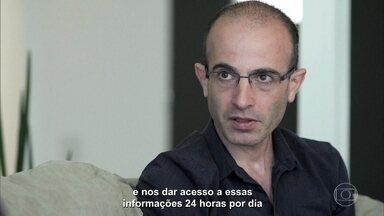 Yuval Noah Harari fala sobre tecnologias que estão mudando o mundo - Stevens Rehen fala sobre a influência das tecnologias e redes sociais nas decisões que as pessoas tomam