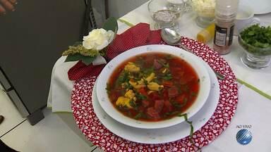 BMD vai à feira: veja como estão os preços dos ingredientes e aprenda a fazer uma sopa - Confira nas dicas da nutricionista.
