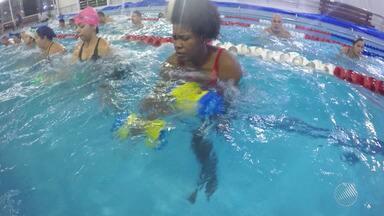 GE traz matéria sobre o 'Aquaboxe'; conheça a nova modalidade - Veja as notícias do esporte no Bahia Meio Dia.
