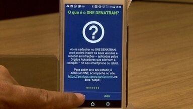 Multas aplicadas pelo Detran vão poder ser pagas com desconto em aplicativo - O departamento aderiu ao Sistema de Notificação Eletrônica, um aplicativo para o pagamento de multas com desconto.