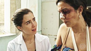 Episódio 4 - Vítima de violência doméstica teme denunciar marido. Dr. Evandro socorre cego e tenta salvar seu cão-guia. Amir quase é desmascarado.
