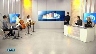Osquestra Camerata Sesi apresenta concerto com peças de Beethoven em Vitória - Sexta-feira (28) teve música no Bom Dia ES.
