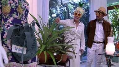 Deixe sua casa na moda com acessórios de abacaxi - Ana Maria Braga mostra itens de decoração e até roupas que vão te deixar na tendência da fruta