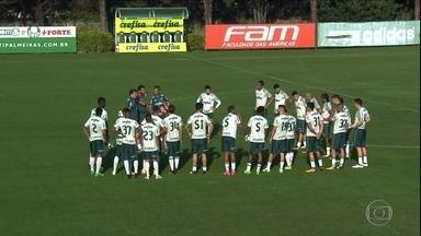 Palmeiras tenta esquecer eliminação na Copa do Brasil para deslanchar no Brasileirão - Palmeiras tenta esquecer eliminação na Copa do Brasil para deslanchar no Brasileirão