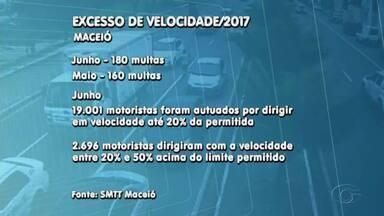 Excesso de velocidade é uma das principais causas de acidente no trânsito, diz pesquisa - Foram 1.620 pessoas vítimas da imprudência.