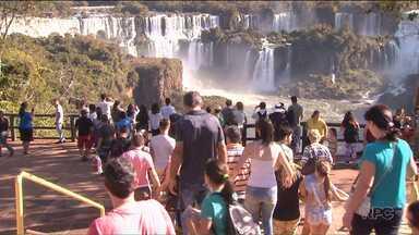 Cataratas do Iguaçu já receberam um milhão de visitantes este ano - O registro de 1 milhão de visitantes ocorreu 19 dias antes da marca anterior, que era de 17 de agosto de 2015.