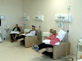 Ala de quimioterapia já está em funcionamento no Hospital do Câncer - Pacientes são atendidos em Presidente Prudente.