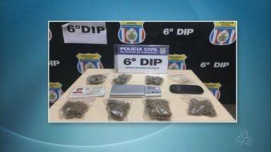 """Jovem de 20 anos é preso suspeito comandar """"disk drogas online"""" em Manaus - A polícia diz que ele anunciava e vendia drogas em uma rede social"""