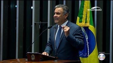 Decisão sobre o novo pedido de prisão de Aécio Neves, do PSDB, deve ser levada ao STF - O procurador-Geral da República, Rodrigo Janot, pede também que o senador seja afastado do mandato.