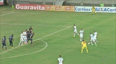 Confira todos os gols da 12ª rodada da Série C do Campeonato Brasileiro - Rodada termina com dois empates nos jogos disputados na segunda-feira; confira como ficou a classificação