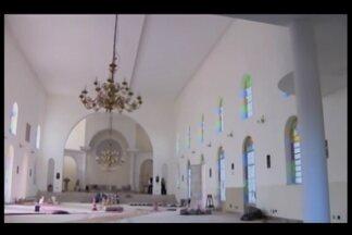 Paróquia Nossa Senhora Aparecida da Guia em Divinópolis será inaugurada na próxima semana - A comunidade católica está em obras há dois anos. Inauguração será no dia 10 de agosto.