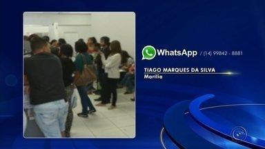 Sistema de ônibus de Marília tem nova mudança - A prefeitura de Marília anunciou mais uma mudança no novo sistema de transporte coletivo, agora no tempo para a integração. E usuários que deixaram para a última hora tiveram dificuldades para renovar o Cartão de Estudante.