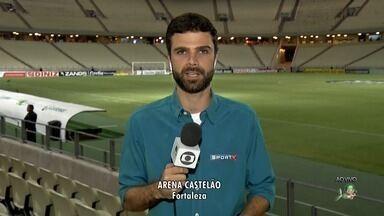 Ceará enfrenta hoje o Criciúma e tenta colar no G-4 da Série B - Jogo começa às 21h30 na Arena Castelão.