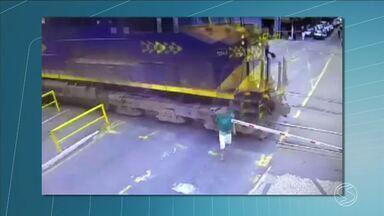 Imprudência segue causando acidentes na linha férrea no Sul do Rio - Foram 9 só no primeiro semestre deste ano.