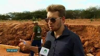 Detalhes sobre a inspeção da morte do adolescente soterrado em Juazeiro do Norte - Saiba mais em g1.com.br/ce