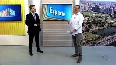 Thiago Barbosa apresenta as notícias do esporte - Thiago Barbosa apresenta as notícias do esporte.