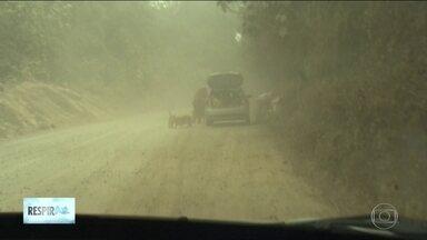 Poluição causa problemas aos moradores da Grande SP - Poluição causa problemas aos moradores da Grande SP.