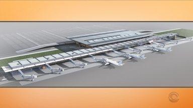 Governo e empresa da Suiça assinam contrato de concessão do aeroporto de Florianópolis - Governo e empresa da Suiça assinam contrato de concessão do aeroporto de Florianópolis