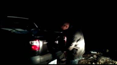 Guarda Municipal de Foz do Iguaçu apreende 154 kg de maconha - Droga estava em um carro encontrado abandonado.