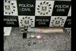 Operação em Santo Ângelo, RS, por venda de drogas sintéticas - Eles faziam parte de organização criminosa.