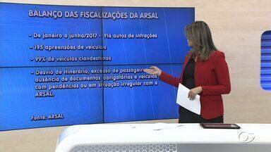 Arsal intensifica fiscalização a transportes clandestinos - Diretora executiva da Arsal, Patrícia Medeiros, fala sobre o rigor da ação.