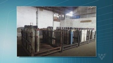 Codesp é multada em R$ 500 mil por vazamento tóxico em cilindros - Substância estava armazenada em cilindros 'esquecidos' no cais por 20 anos.