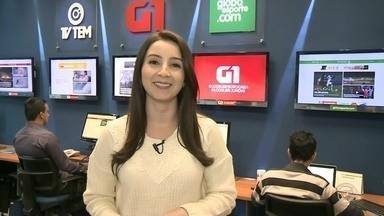 Mayara Corrêa mostra as principais notícias do G1 na região noroeste paulista - Mayara Corrêa mostra as principais notícias do G1 na região noroeste paulista nesta quinta-feira (3).