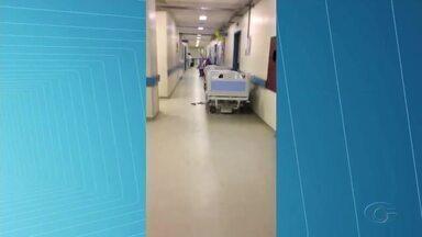 Gestantes estão abrigadas em macas e cadeiras no corredor do Hospital Universitário - Unidade tem capacidade para 15 gestantes mas, o setor de pré-parto da Maternidade do Hospital Universitário está com mais que o dobro de pacientes.