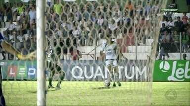 Luverdense marca nos acréscimos e vence o Guarani pela Série B - Luverdense marca nos acréscimos e vence o Guarani pela Série B
