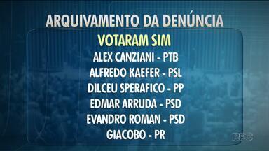 Veja como votaram os deputados paranaenses sobre o arquivamento da denúncia contra Temer - O presidente era acusado por crime de corrupção passiva e a denúncia foi arquivada.