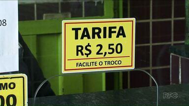 Valor da passagem do transporte municipal sobe 30 centavos em Cianorte - O preço subiu de R$ 2,20 para R$ 2,50. Viação Cianorte diz que os motivos foram a alta dos combustíveis e a redução dos subsídios pagos pela prefeitura.