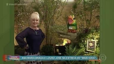 'Pediu Passou': Relembre a estreia do 'Mais Você' - Apresentadora mostrou as novidades de seu programa