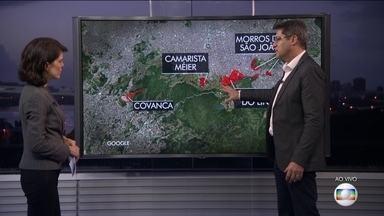 Fernando Veloso analisa a região onde acontece a Operação Onerat - O especialista em segurança pública Fernando Veloso afirmou que o Complexo do Lins é uma área importante porque há uma comunicação entre comunidades, o que dificulta a ação da polícia.