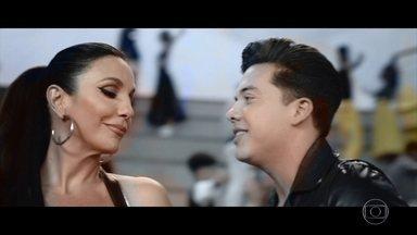Ivete Sangalo lança 'À Vontade', que gravou com Wesley Safadão, ao vivo - Visual e dança do clipe da música remetem ao filme 'Grease – Nos Tempos da Brilhantina'; veja também apresentação de 'Tempo de Alegria' e 'O Farol'.