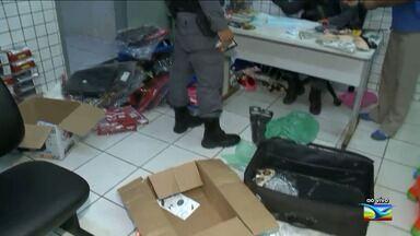 Polícia Militar apreende produtos sem nota fiscal em São Luís - Polícia Militar apreende produtos sem nota fiscal em São Luís