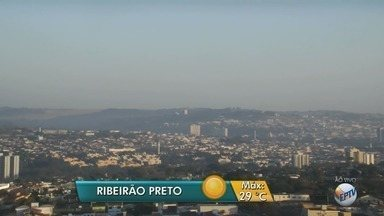 Temperatura máxima deve chegar a 29ºC em Ribeirão Preto - Meteorologistas não preveem chuva nesta segunda-feira (7).