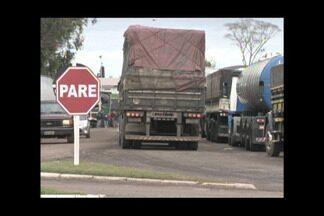 Segue a mobilização dos caminhoneiros na região noroeste - Movimento maior é registrado em Ijuí,RS.