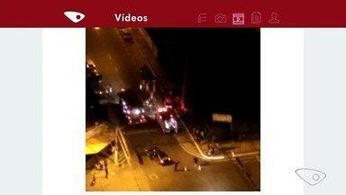 Acidente deixa feridos em Vila Velha, ES - Parceiro do ESTV enviou imagens para o Aplicativo da TV Gazeta.