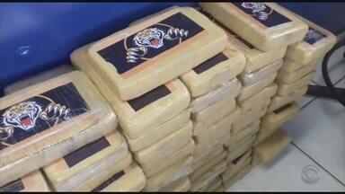 Mais de 150 kg de cocaína são apreendidos em Joinville - Mais de 150 kg de cocaína são apreendidos em Joinville
