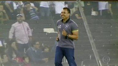 Jair Ventura completa um ano no comando do Botafogo podendo fazer história - Treinador tenta levar o alvinegro ao título da Libertadores.