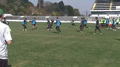 Mesmo com boa vantagem, Operário treina forte para partida de volta das quartas - Time pode perder por até 2 a 0 para o Maranhão. Jogo de volta será na segunda-feira