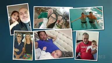 Em homenagem ao Dia dos Pais o Paraná TV mostra fotos de pais e filhos - Mande também sua foto no aplicativo Você na RPC.
