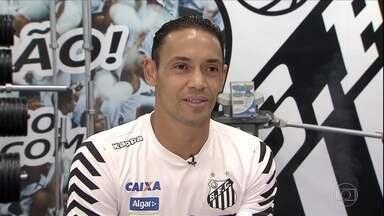 Ricardo Oliveira conta como o Santos está preparado para decisão na Libertadores - Ricardo Oliveira conta como o Santos está preparado para decisão na Libertadores