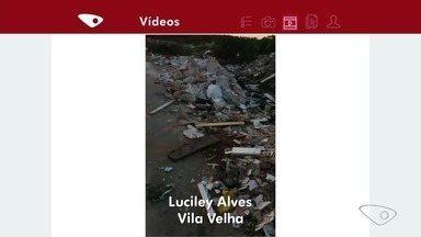 APP TV Gazeta: ciclista registra lixo na rodovia Leste Oeste em Vila Velha - O parceiro Luciley Alves fez as imagens enquanto pedalava.