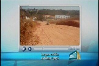 Moradores de Divinópolis reclamam da poeira no Bairro São Geraldo - Habitantes querem saber se a Prefeitura irá realizar um calçamento na região.