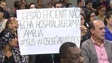 Audiência discute fechado do setor de ortopedia do Galba Velloso, em BH - Fechamento se deveu a irregularidades apontadas pela Vigilância Sanitária.