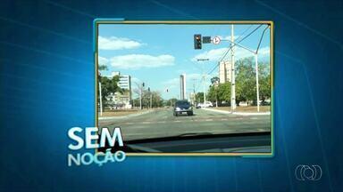 Motorista é flagrado na contramão em avenida de Palmas - Motorista é flagrado na contramão em avenida de Palmas